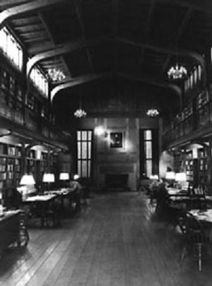 The Yale Historical Library (circa 1945) houses the libraries of Harvey Cushing, Arnold Klebs, and John Fulton