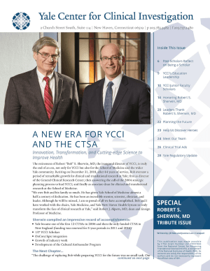 Spring 2019 YCCI newsletter cover