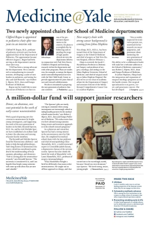 Medicine@Yale November/December 2017 Cover