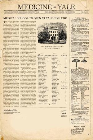 Medicine@Yale November 2010 Cover