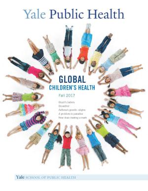 Yale Public Health Fall 2017 Cover-Global Children's Health