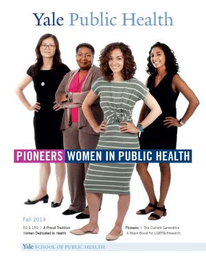 Cover Pioneers in Public Health - 4 women