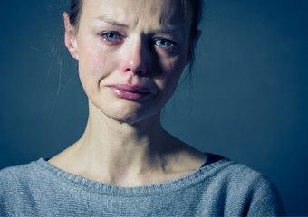 Emerge Depressed Woman