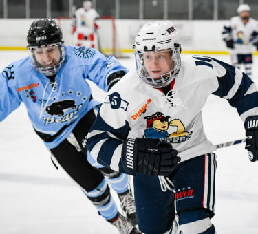 NWHL game between Buffalo Beauts and Metropolitan Riveters