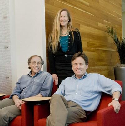Howard Jaffe, Linda Higgins, Bill Lee (Gilead Sciences)