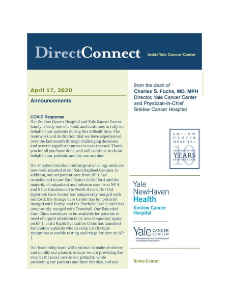 cover of DirectConnect April 17th issue