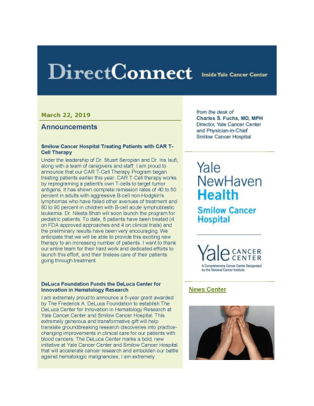 Cover image for March 22, 2019 issue of Direct Connect