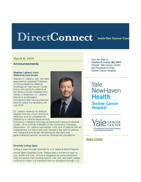 Cover image for March 8, 2019 issue of Direct Connect