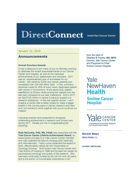 DirectConnect cover January 12 issue