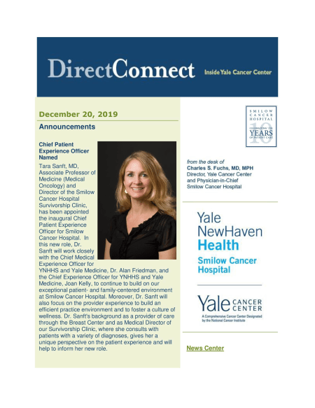cover of December 20th issue of DirectConnect
