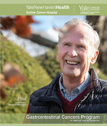 Cover of brochure with patient image