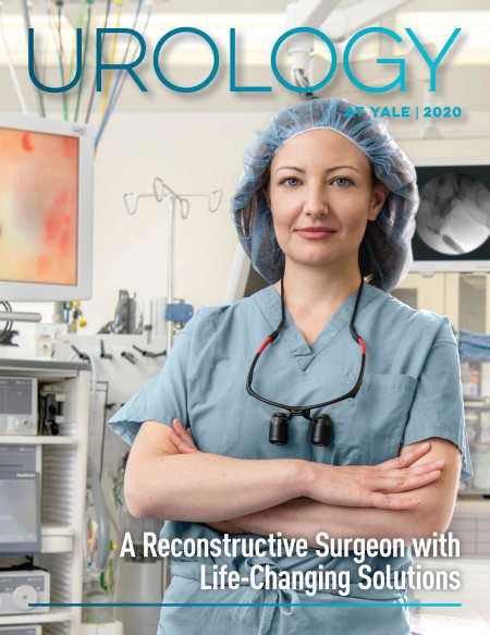 Cover image for the 2020 Urology at Yale annual publication