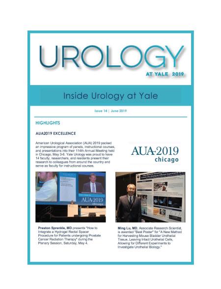 Inside Urology at Yale - June 2019