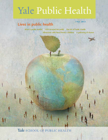 YSPH Fall 2012 magazine cover