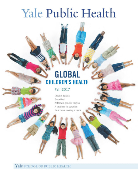 Yale Public Health Fall 2017 Cover-Global Children's Health