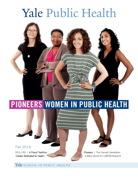 Cover Pioneers in Public Health - 4 women