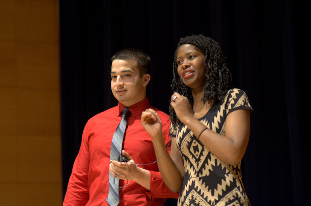 Kenneth Vera and Zola Quao hosted the 21st Annual Grannum Jamboree and Talent Show in February.