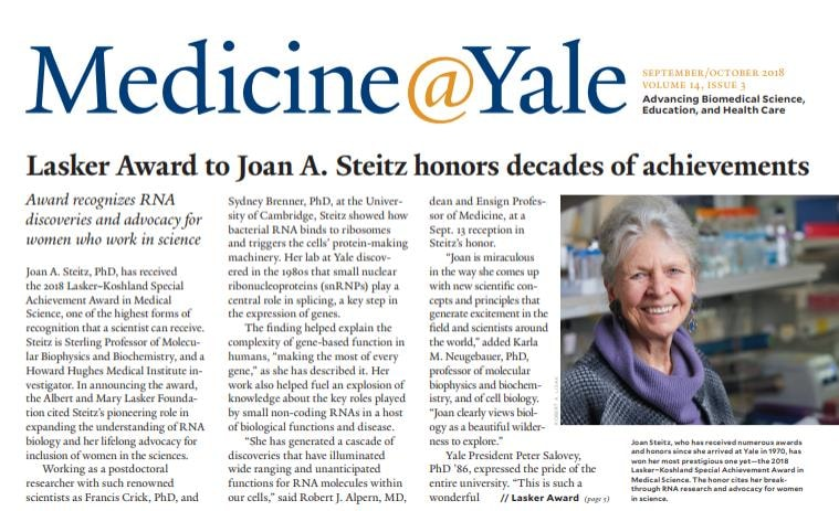 Medicine@Yale cover