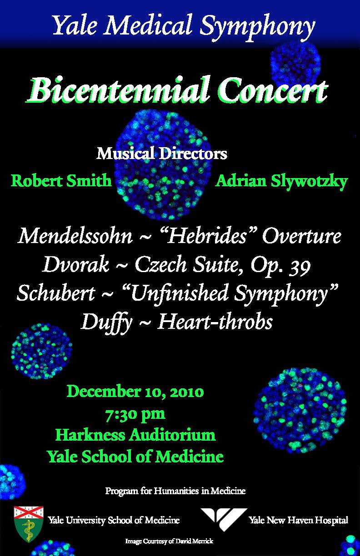 Yale Medical Symphony: Winter 2010
