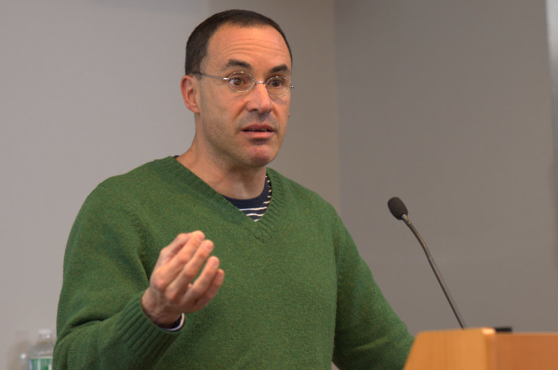 Gregg Gonsalves, and HIV/AIDS activist, spoke on human rights and health.