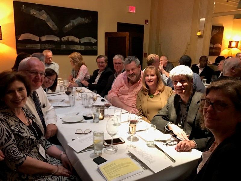 Class of 1984 35th Reunion Dinner at Zinc, June 1, 2019