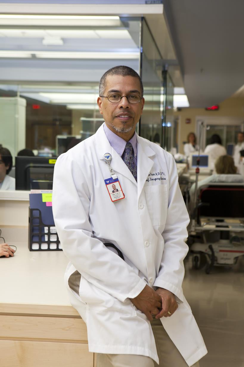 Federico Vaca studies familial or cultural conditions that lead young Hispanic men into risky behaviors that may bring them into the emergency department.