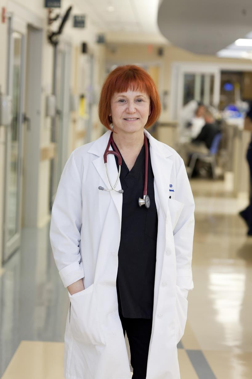 Gail D'Onofrio, chair of the Department of Emergency Medicine, is one of a growing number of EPs who want to change the way EDs do business.