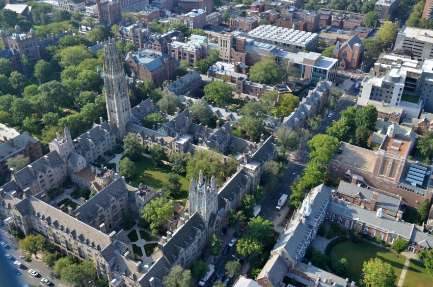 New Haven and the Yale Campus