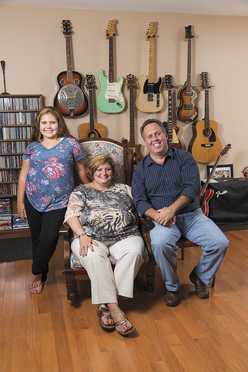 With the help of her daughter, Sarah, and husband, Chris, Helen Bolan recovered from a stroke