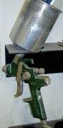 HVLP guns save paint.