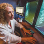 Liane Philpotts uses digital breast tomosynthesis