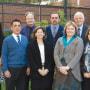 The TLC's leadership includes (from left) Anna Reisman, John Encandela, Gary Leydon, Janet Hafler, Michael Green, Jacqueline Fordiani, Frederick Haeseler (retired), and Dorothy DeBernardo.