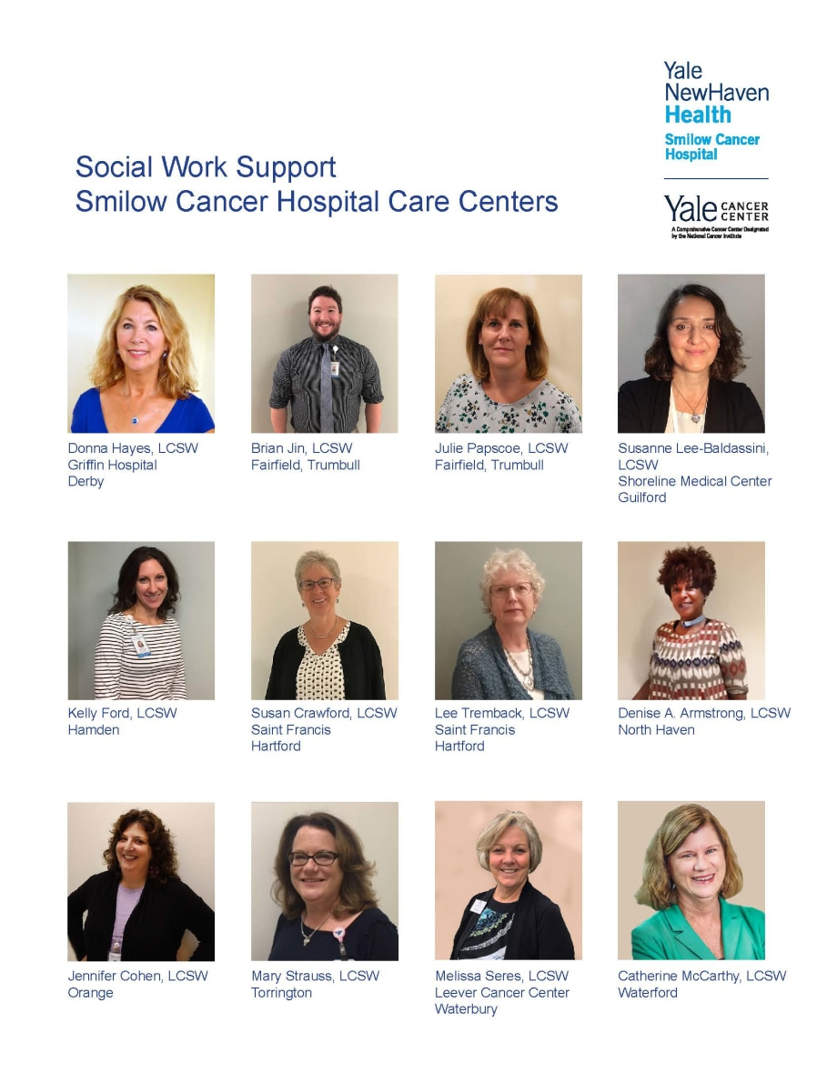 SCH Care Center Social Workers