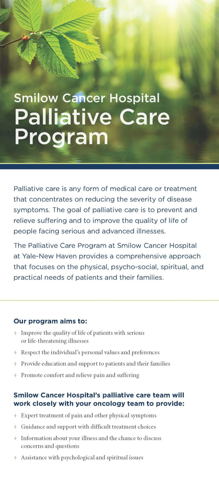Palliative Care card 2017