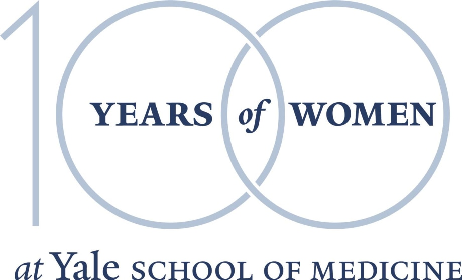 100 Years of Women at Yale School of Medicine logo