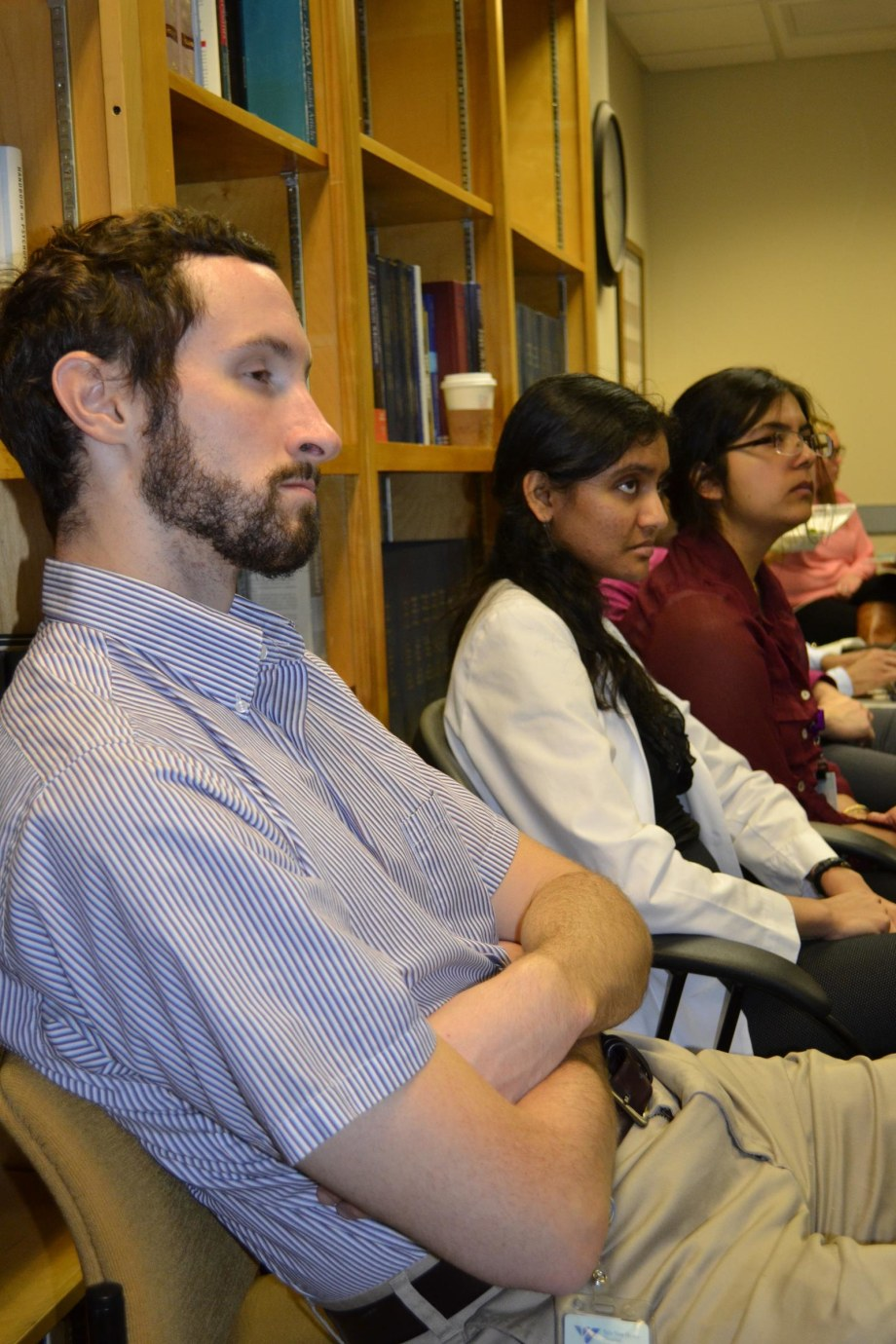 In their 3rd year Yale Medical Students do a 6 week clinical rotation in Psychiatry on one of the various training sites.