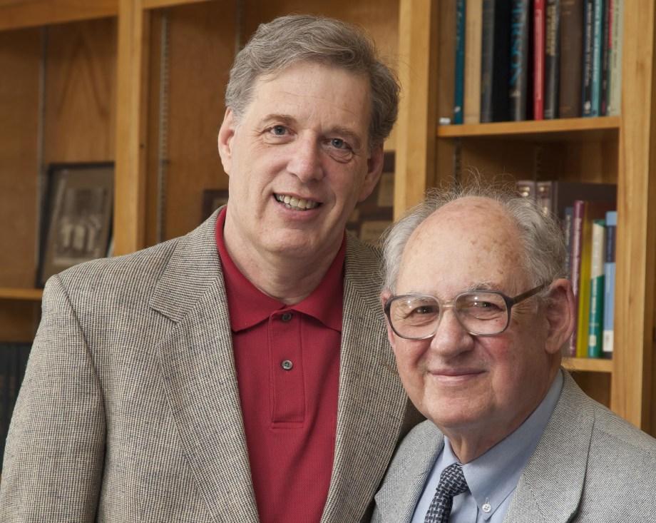 Dr. Thomas McMahon receives the first Sidney J. Blatt award