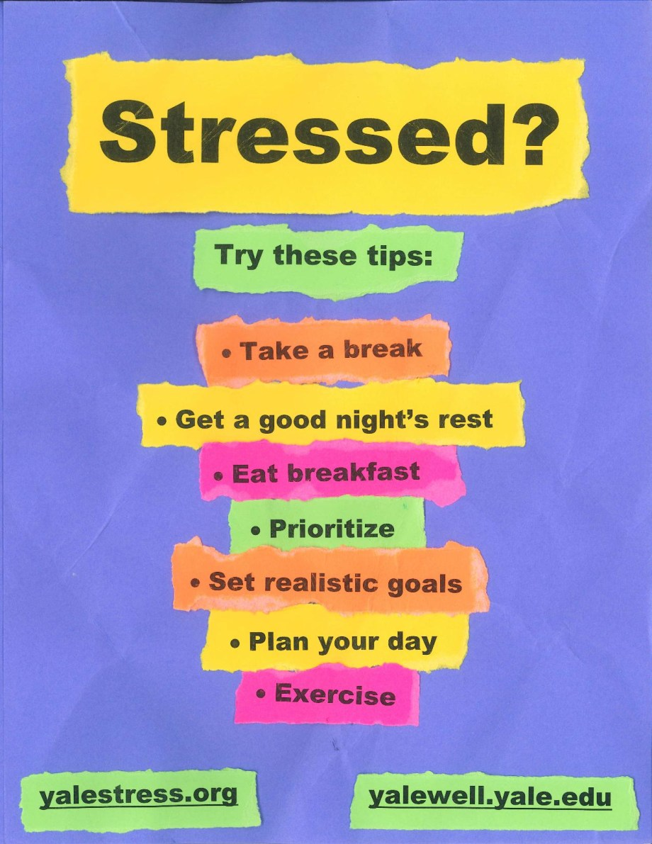 Stress Poster Tips
