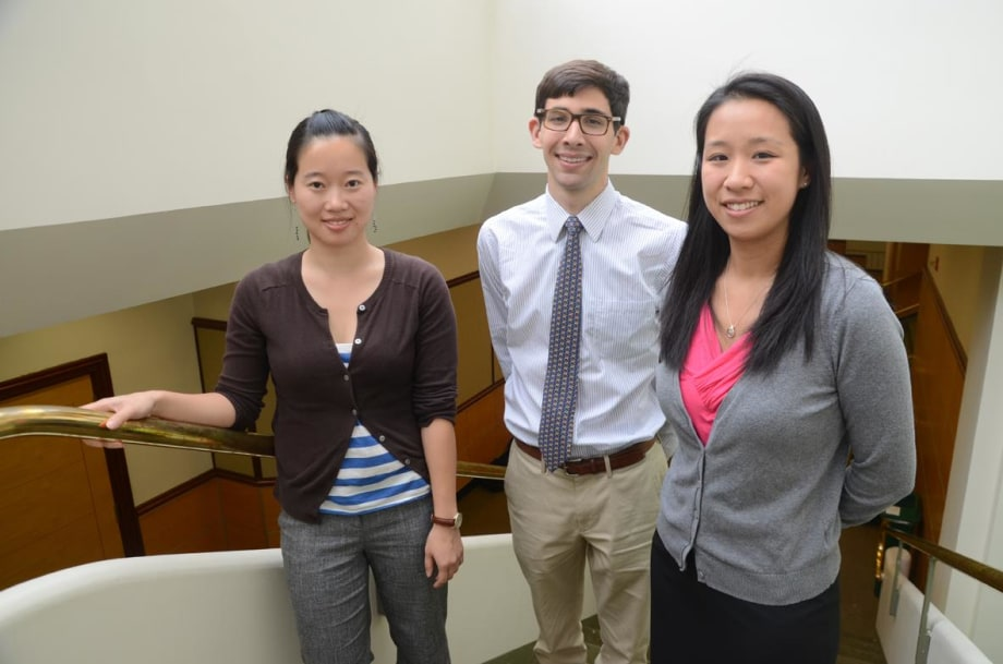 Michelle Chen, James Tooley, and Gloria Sue