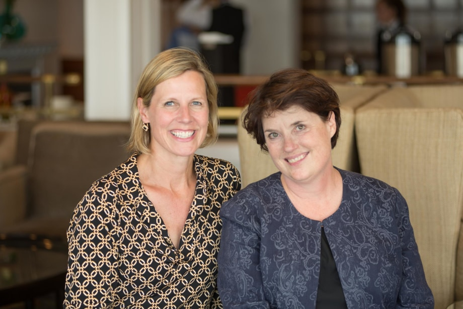 Melinda Irwin and Diana Lowry