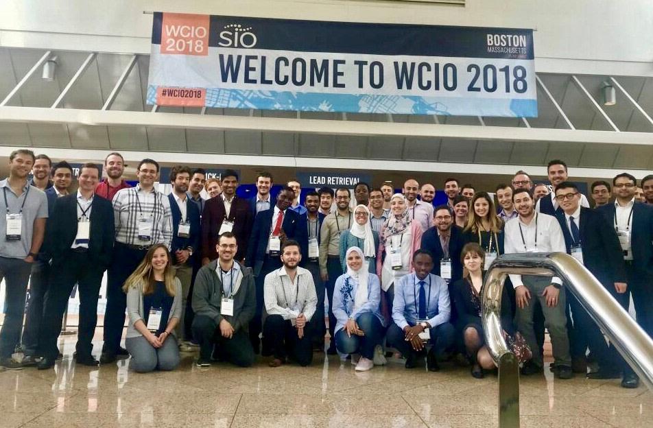 International Scholars of WCIO 2018 group photo