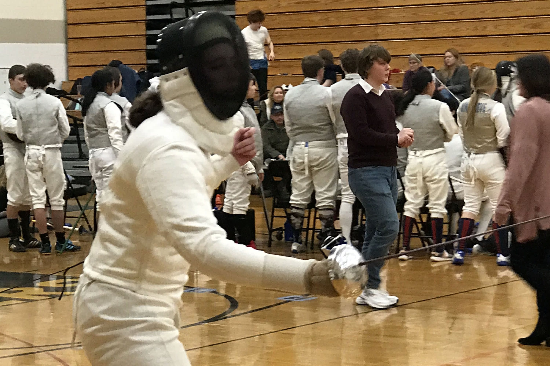 Sarah Swenson, fencing