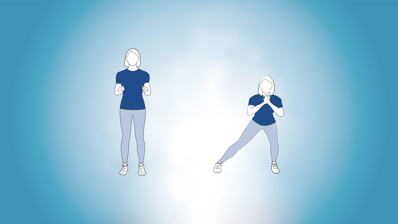 side lunge illustration
