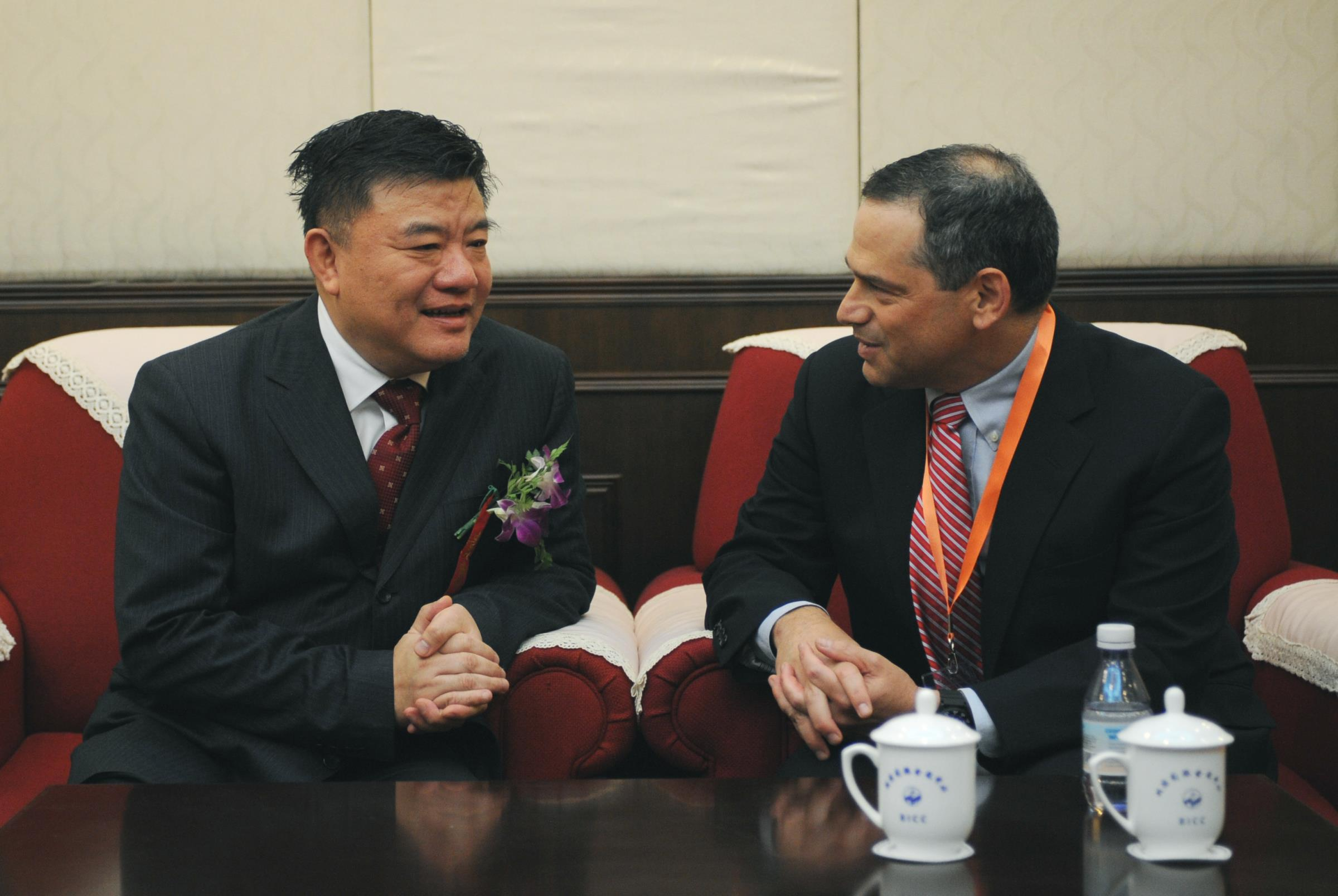 Meeting China's Health Minister