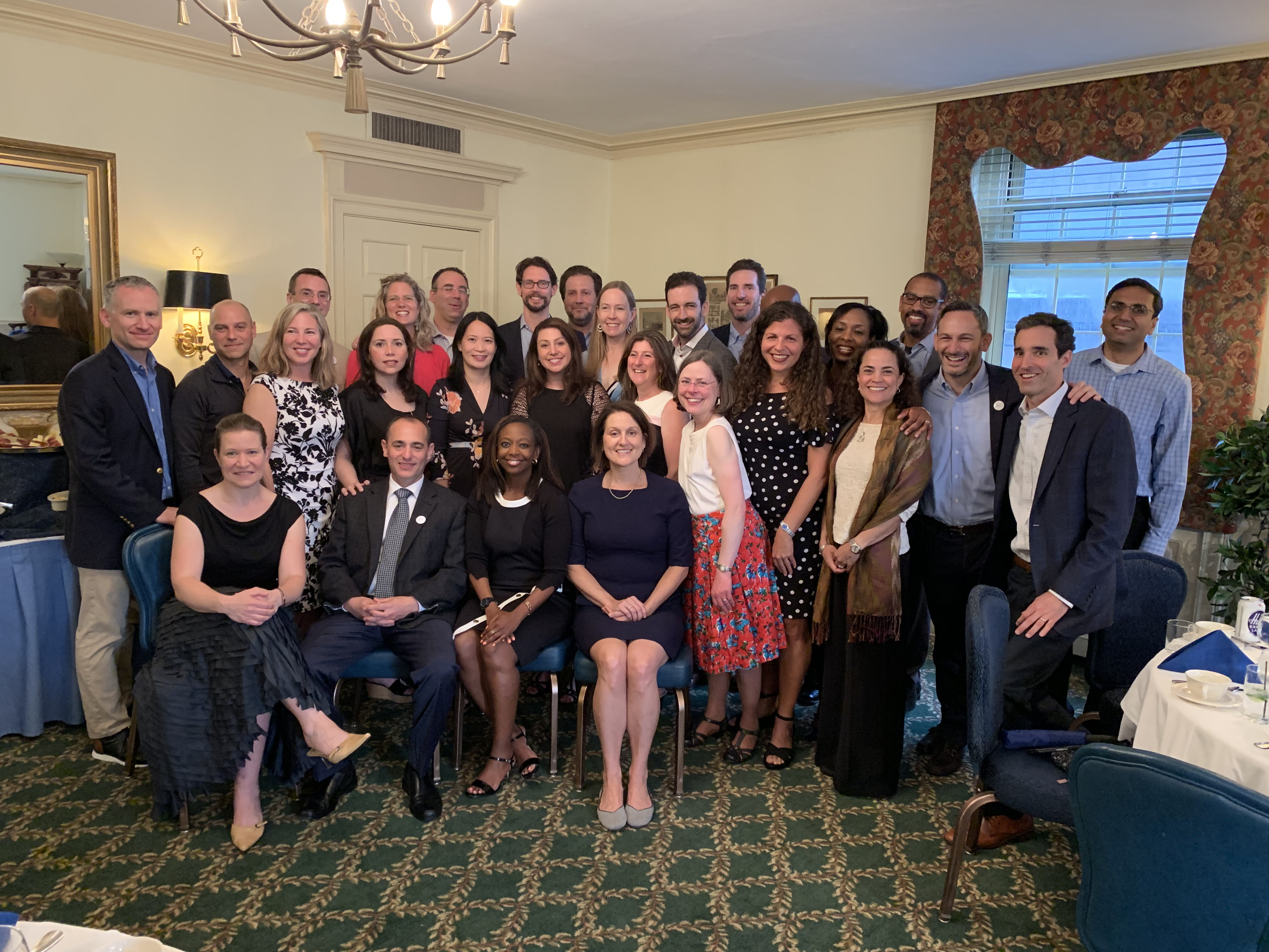 Class of 1999 20th Reunion Dinner at the Quinnipiack Club, June 1, 2019