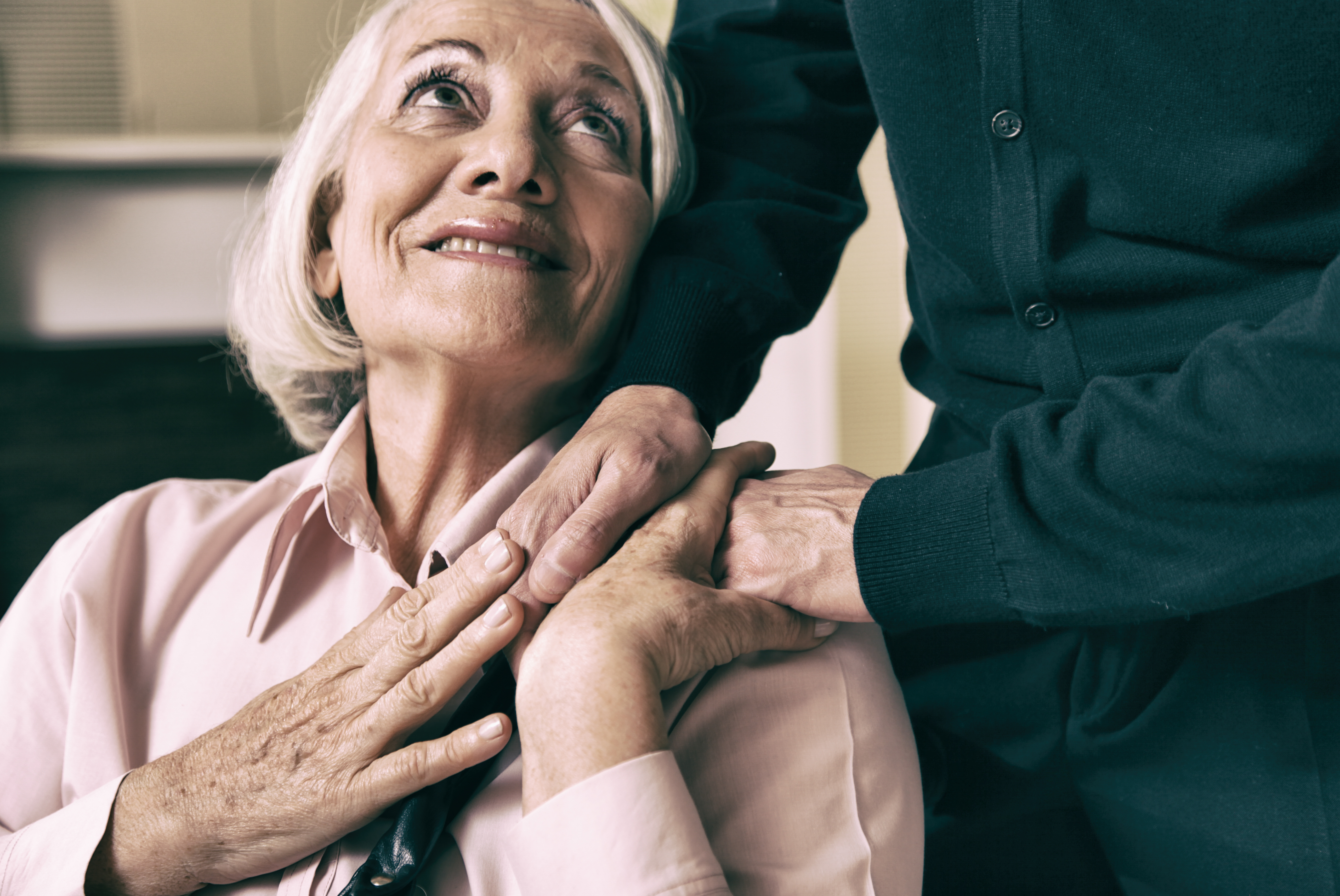 Mutual caregiving is becoming common in older marriages.