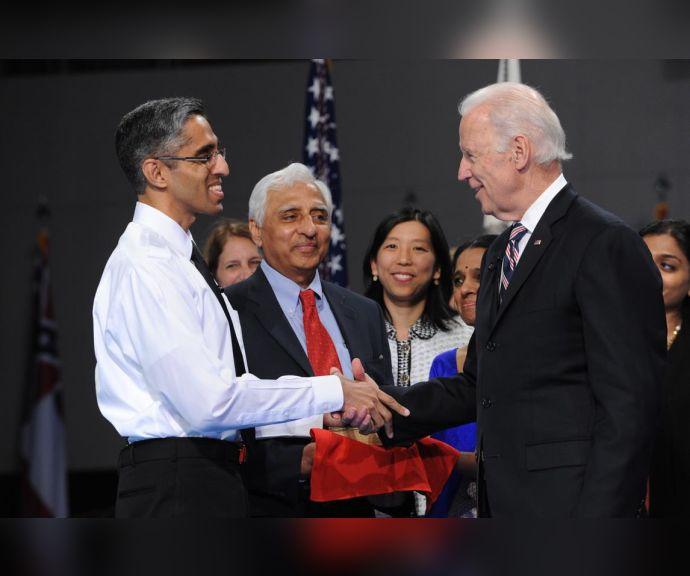 Vivek and Biden